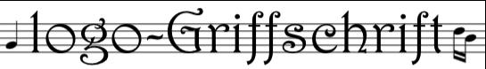 logo Griffschrift